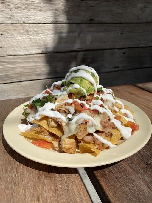 chicken nachos_by La Sirena Grill