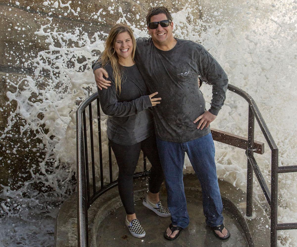 Locals for Laguna Beach Jason Garza and Ashley Moseley_credit Mary Hurlbut