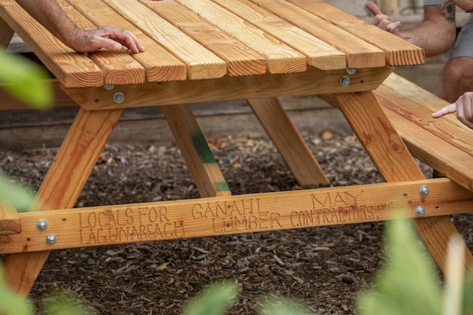 Locals picnic tables_credit Mary Hurlbut