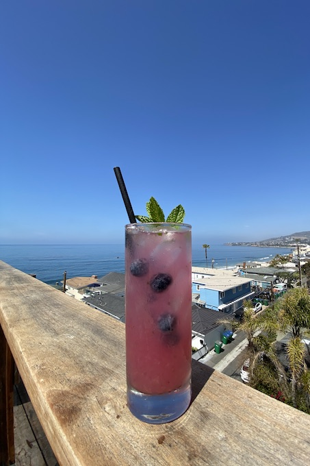 Blueberry Mint Lemonade_credit The Rooftop Lounge
