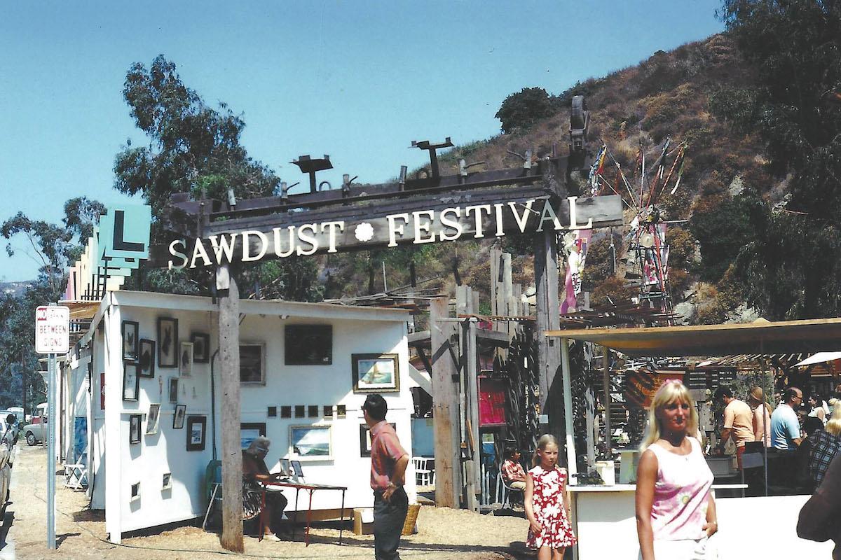 1968 entrance_courtesy of Sawdust Art Festival