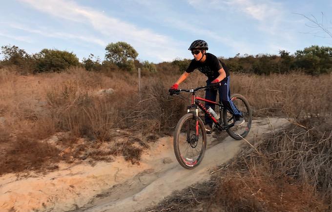 Oscar Jacquez, LB Interscholastic Mountain Bike team_credit Tony Zentil