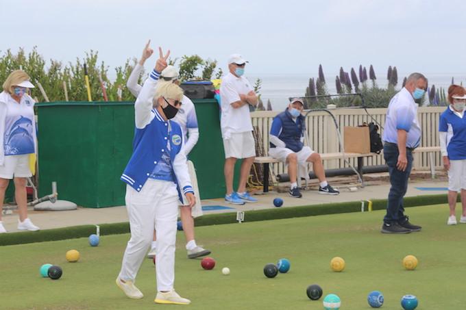 pandemic Laguna Beach Lawn Bowling Club