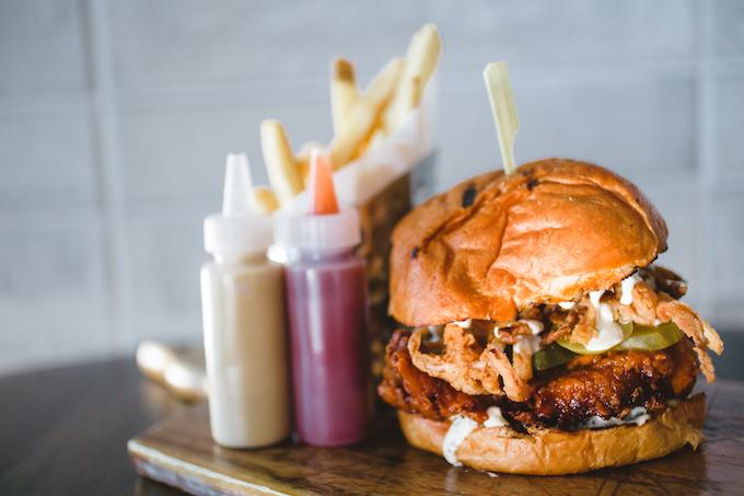 Hot Chicken Sandwich-credit Focus Photography Inc.