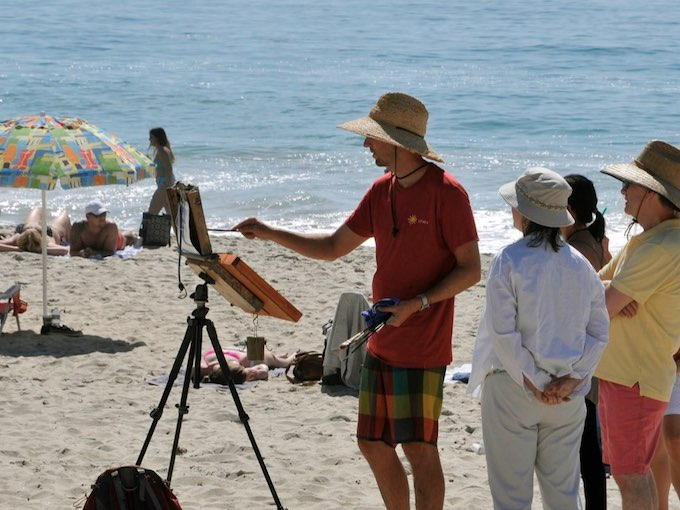 6-LPAPA Gallery-Colin Page Main Beach_courtesy of LPAPA