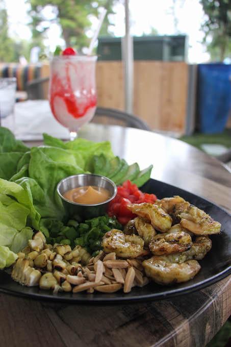 The Presley shrimp wraps_credit Ashley Ryan