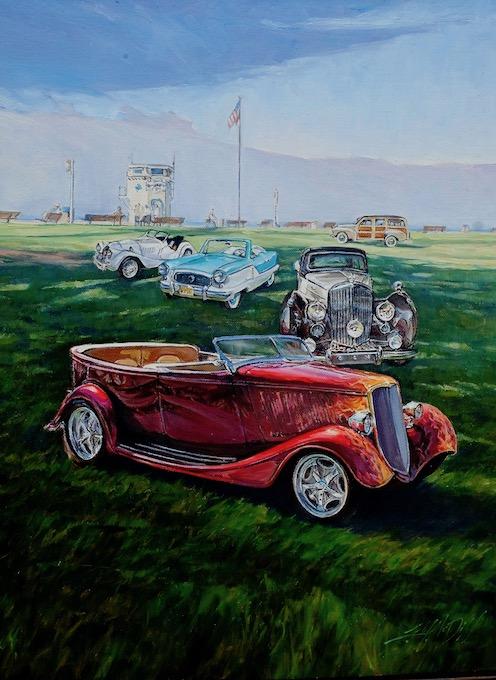 car painting_credit Lisa Mozzini-McDill