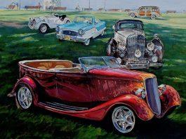 header image of car painting_credit Lisa Mozzini-McDill