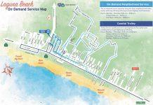 On-Demand Map 8-20-21_courtesy of the City of Laguna Beach